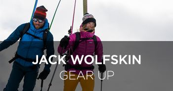 Jack Wolfskin's Winter Collection GEAR UP